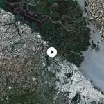 Buenos Aires seen from space by Sentinel-2A