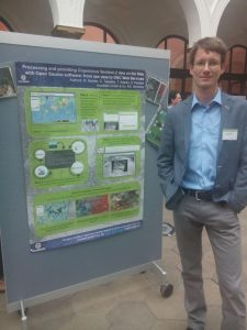 Dr. Markus Neteler at the GEPW16 Earth Observation workshop in Berlin