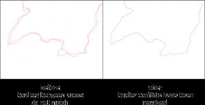 ECMWF GIS dissolve topological clean tool